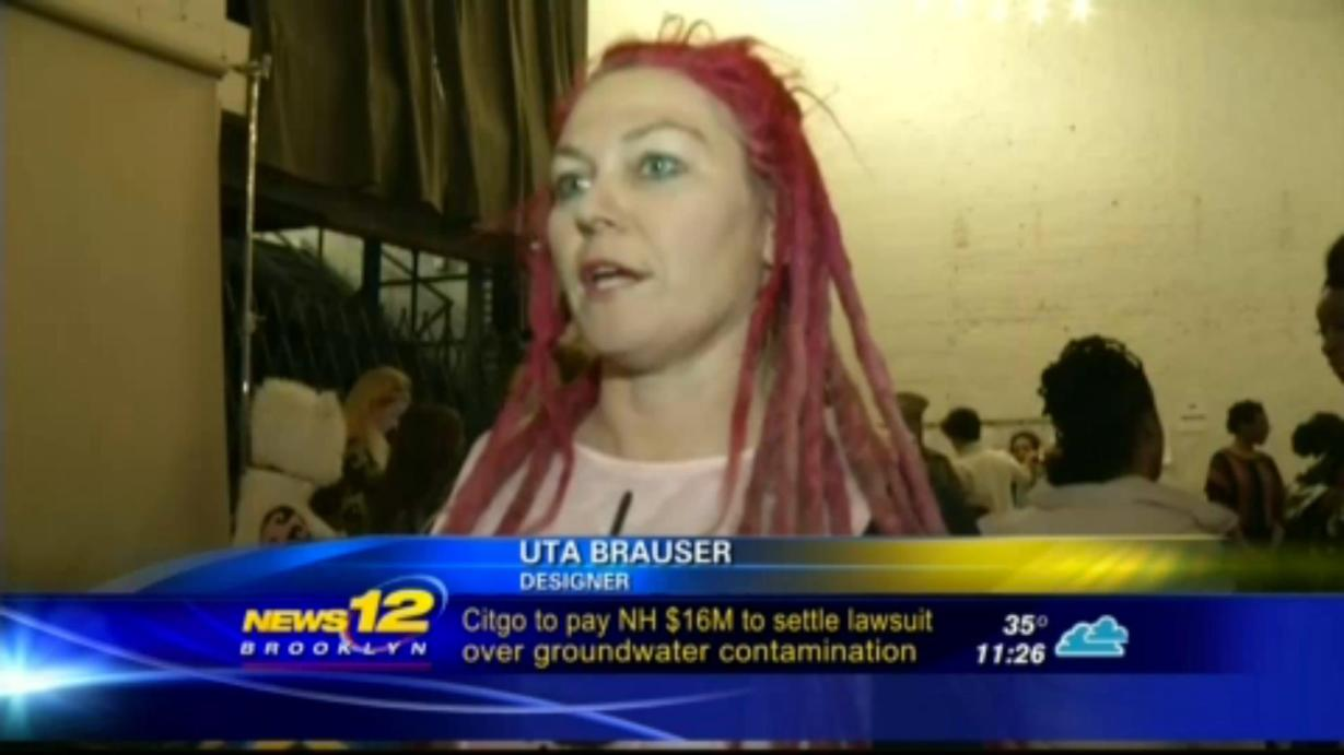 Uta Brauser on News 12