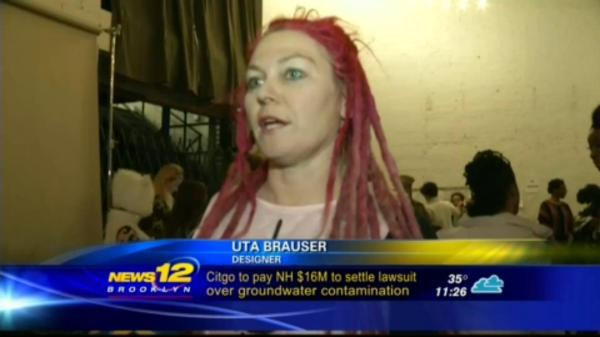 Uta Brauser on News 12