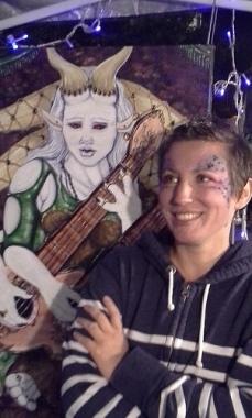 sarah with minstrel fairy