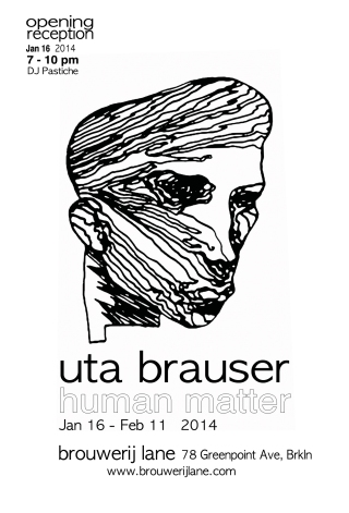 Uta Brauser at the Brouwerij