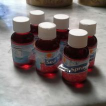 cranberry juice miniatures