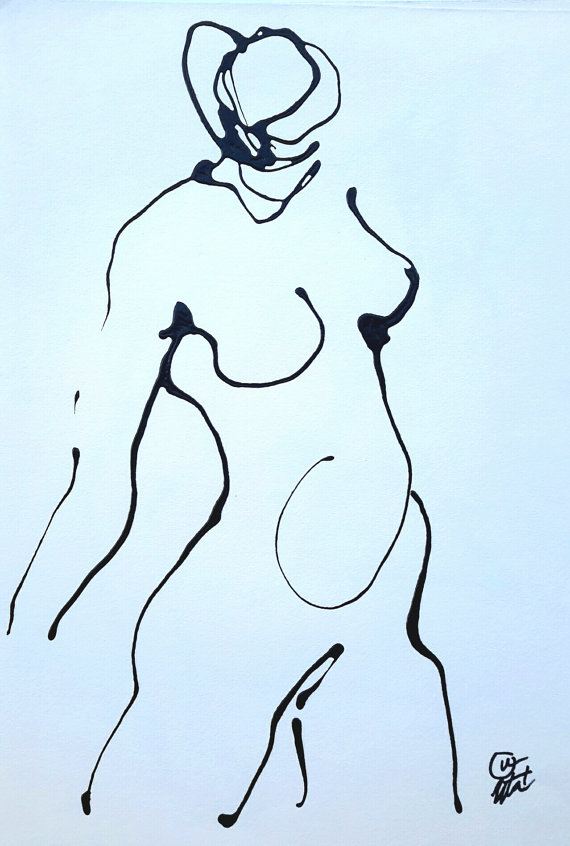 Torso of a Standing Female by Uta Brauser