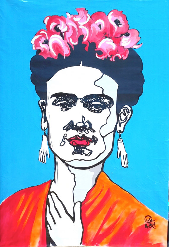 Frida Portrait