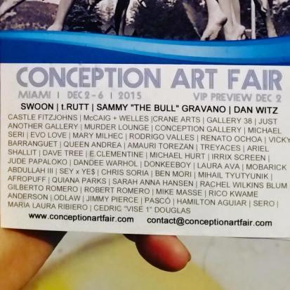 Conception art fair, Wynwood Miami