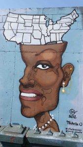Michelle O. Mural Print