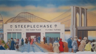 the original Coney Island entertainment center Steeple Chase