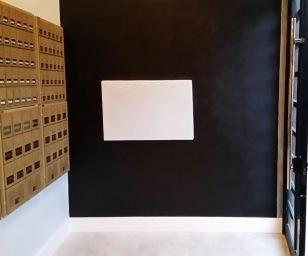 chalkboard wall, interiors