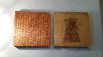 Sienna Reid work on wood