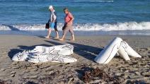 woman miami beach